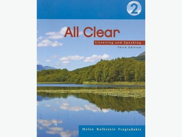 Used All Clear 2: Listening and Speaking Book
