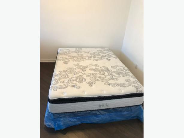 Queen Mattress with Bed Box for sale