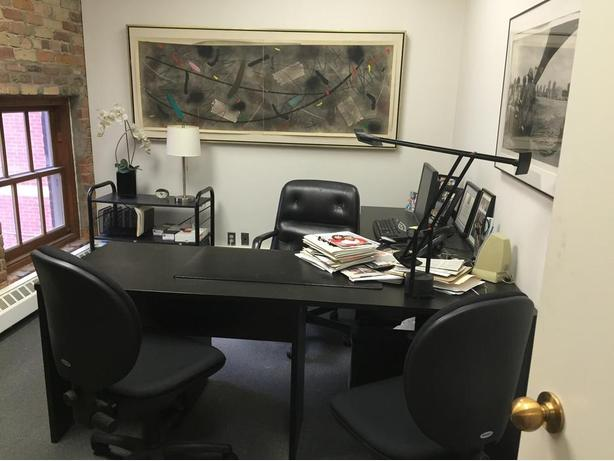 Black L-Shape (Office) Desk