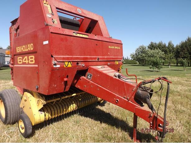 Round Baler For Sale