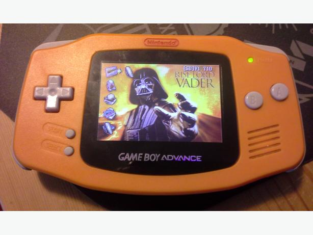 Gameboy Advance w/ Bright Screen (AGS-101)