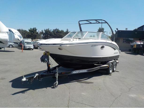 2013 Chaparral 244 Sunesta 24 Foot Power Boat and EZ Loader Trailer