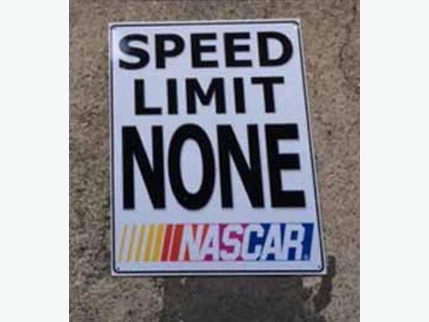 NASCAR signs