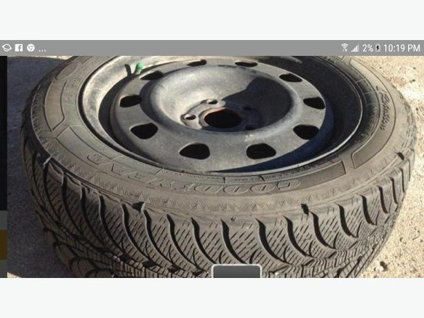 Excellent Winter Tires Used 1 Season