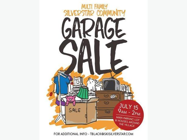 SilverStar Mountain COMMUNITY GARAGE SALE