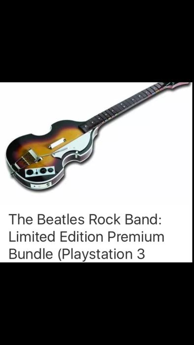 $275 · BRAND NEW Beatles RockBand Limited Edition Sony PS3 Complete Set  PlayStation