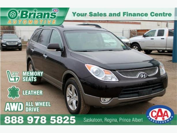 2011 Hyundai Veracruz Limited - No PST! w/AWD, Leather