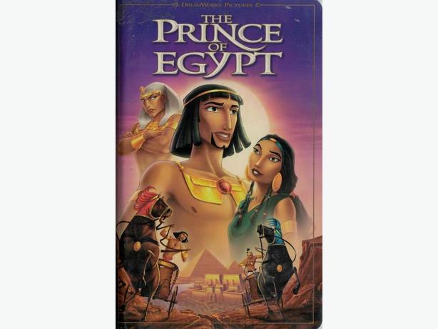 Dreamworks The Prince of Egypt Movie