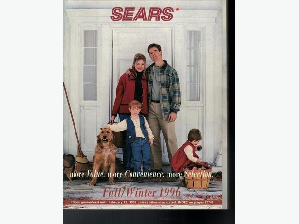 Sears Catalogue Fall / Winter 1996