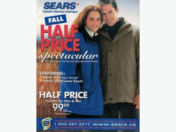 Sears Catalogue - Fall Half Price Spectacular 2000