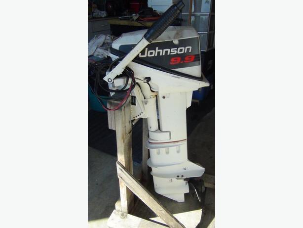 1991 9 9 JOHNSON LONGSHAFT ELECTRIC START/CHARGING OUTBOARD