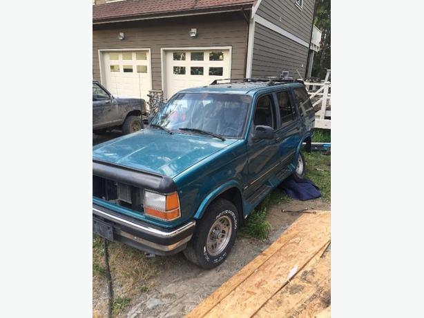 1993 Ford Explorer Parts vehicle West Shore: Langford