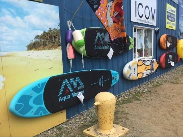 STAND UP PADDLEBOARDS INFLATABLE SUP's by AQUA MARINA