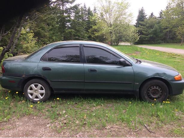 1998 Mazda Protege Se