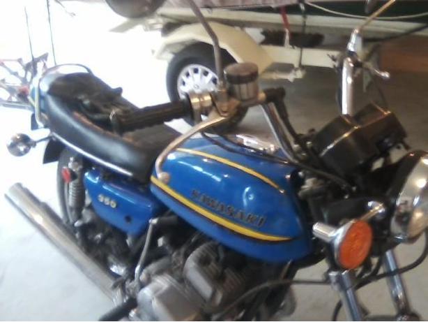 1973 Kawasaki 350 Triple S2A