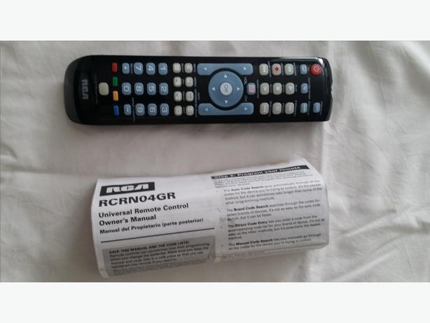 RCA Illuminated Universal Remote