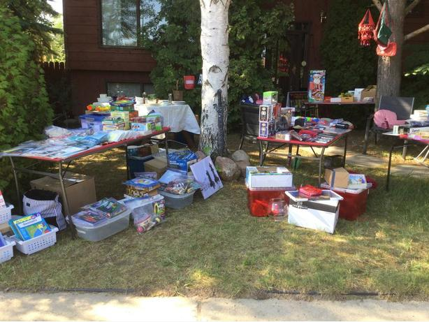 Crean Crescent Garage Sale