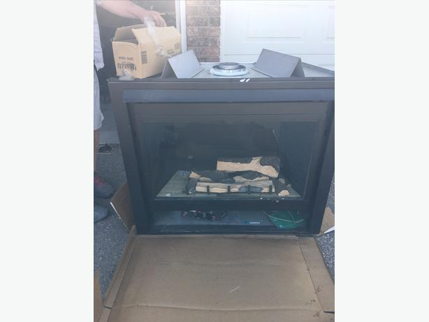 Fireplace insert - Never used