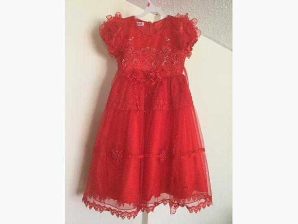 Red Fairy Frock