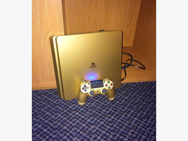 Limited Edition Gold Slim 1TB PS4
