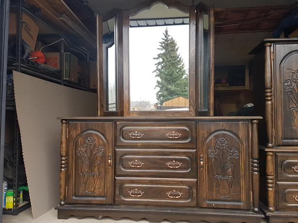 2 solid wood (elm) dressers