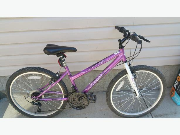 "Girl's 24"" wheel 18 speed bike"