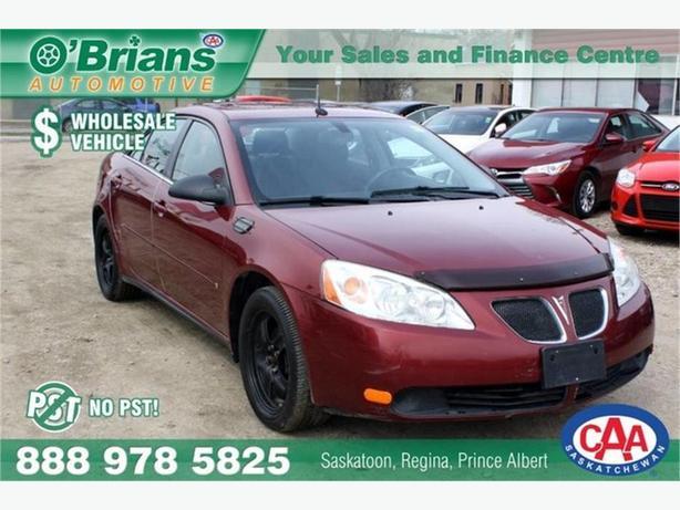 2008 Pontiac G6 SE - Wholesale Unit, No PST!