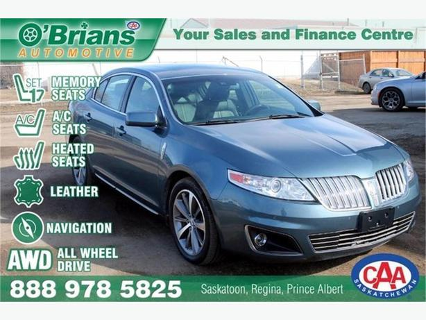 2010 Lincoln MKS w/AWD, Leather