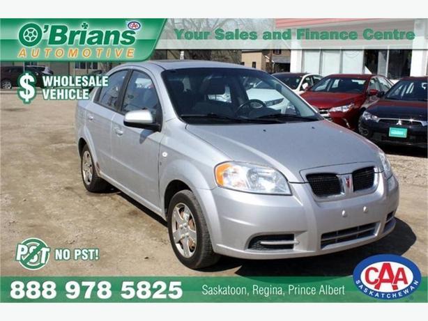 2008 Pontiac Wave Wholesale Unit, No PST!