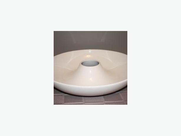Decor Round White Plate