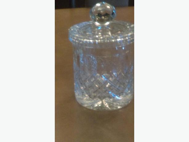 Lead Crystal Ice Jar