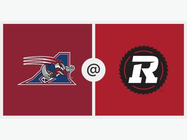 Ottawa Redblacks vs Montreal Alouettes Tickets