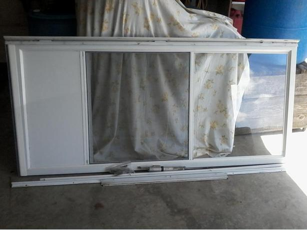 White screen door