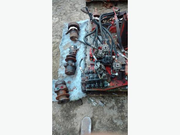 Hydraulic motors pumps cylinders