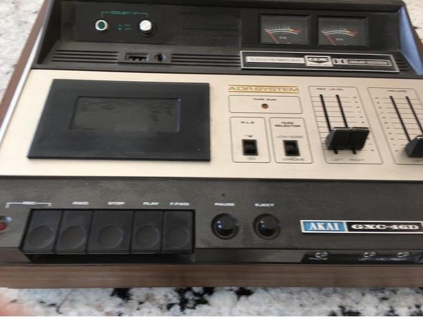 Vintage 1973 Akai GXC-46D Cassette deck