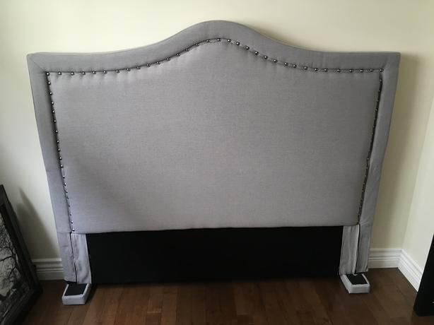 Queen Upholstered Headboard Brand New