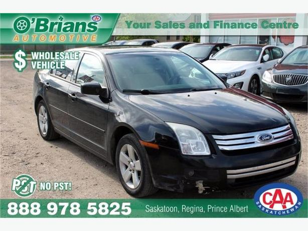 2008 Ford Fusion SE - No PST, Wholesale Unit