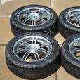 16 Inch Michelin X-Ice Winter Tires on Core Racing Rims