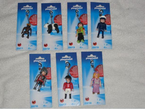PLAYMOBIL KEYCHAINS - BRANDNEW - CHECK IT OUT