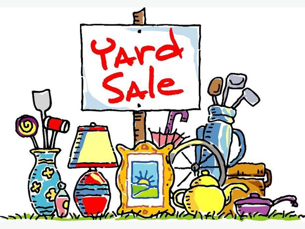 YARD SALE - GARAGE SALE