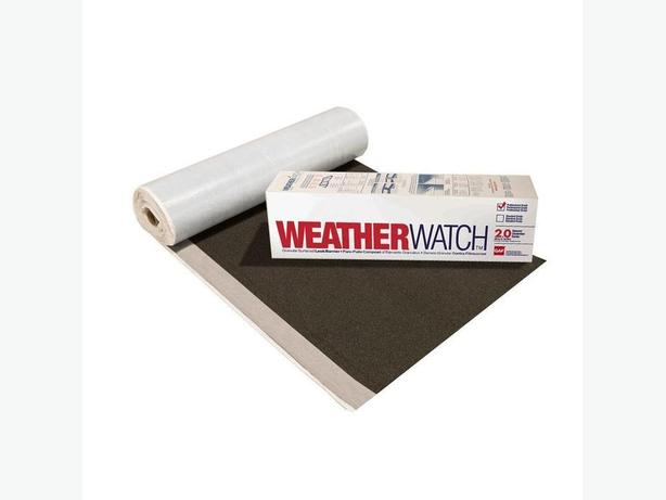 "Roofing Materials -  ""Roof Leak Barrier - Underlay"""