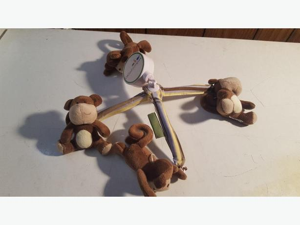 For Sale: Monkey Mobile for Crib