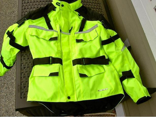 Mens NEW First Gear Motorcycle Jacket