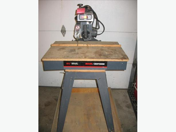 "8 1/4"" Radial Arm Saw"