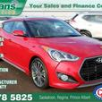 2016 Hyundai Veloster Turbo w/Mfg Warranty, Nav, Leather