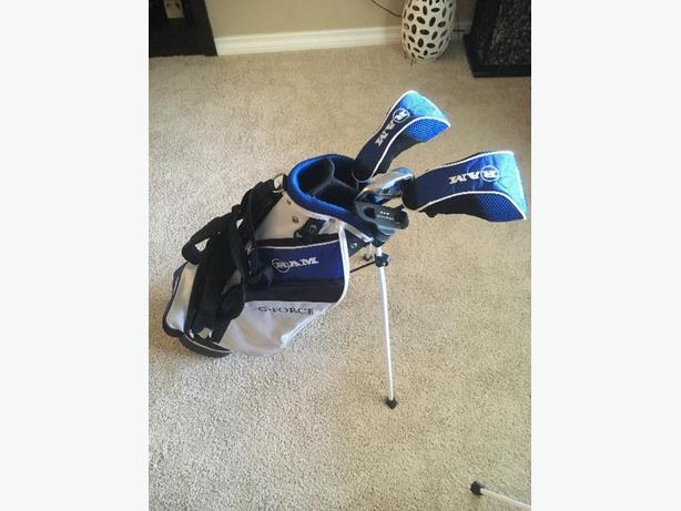 Kids 6-8 Left Handed Golf Club Set