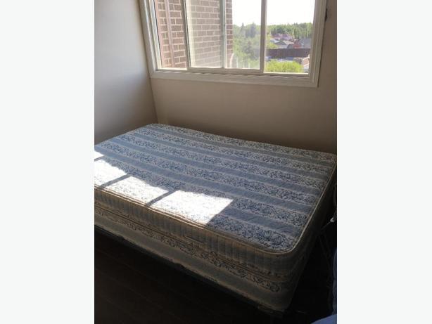 frame/boxspring/mattress