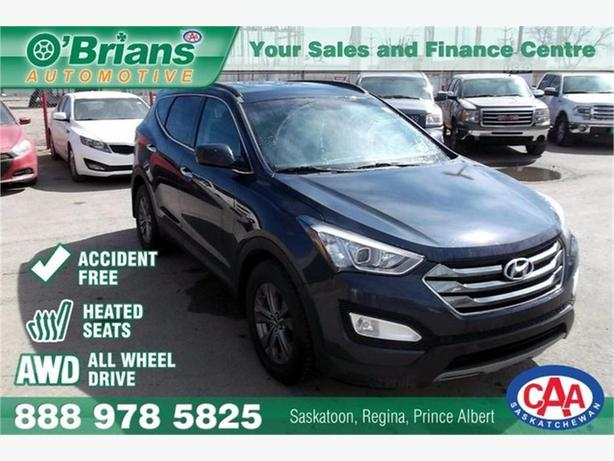 2014 Hyundai Santa Fe Sport SE - Accident Free! w/AWD, Htd Seats