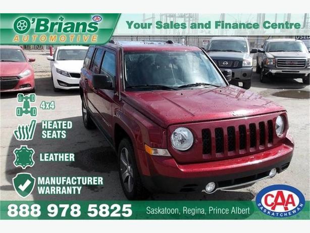 2016 Jeep Patriot High Altitude  w/Mfg Warranty, Leather