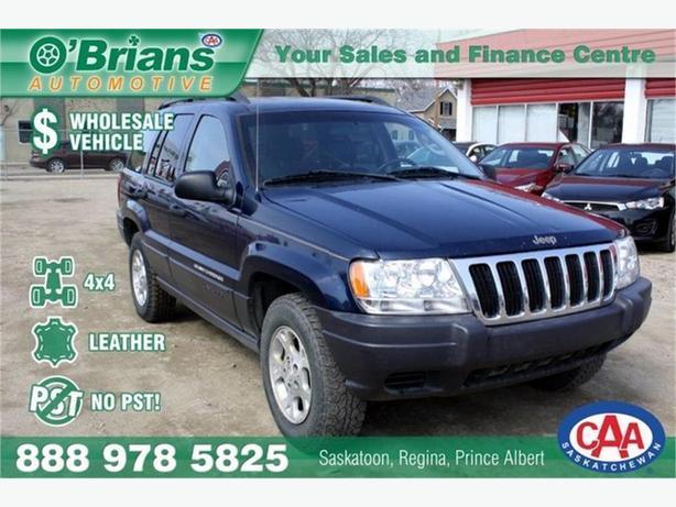 2003 Jeep Grand Cherokee Laredo - Wholesale Unit, No PST!